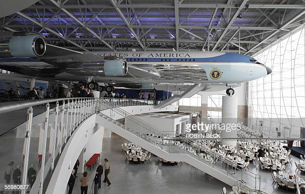A view of the new Air Force One Pavilion at the Ronald Reagan Presidential Library in Simi Valley California 21 October 2005 The Air Force One...