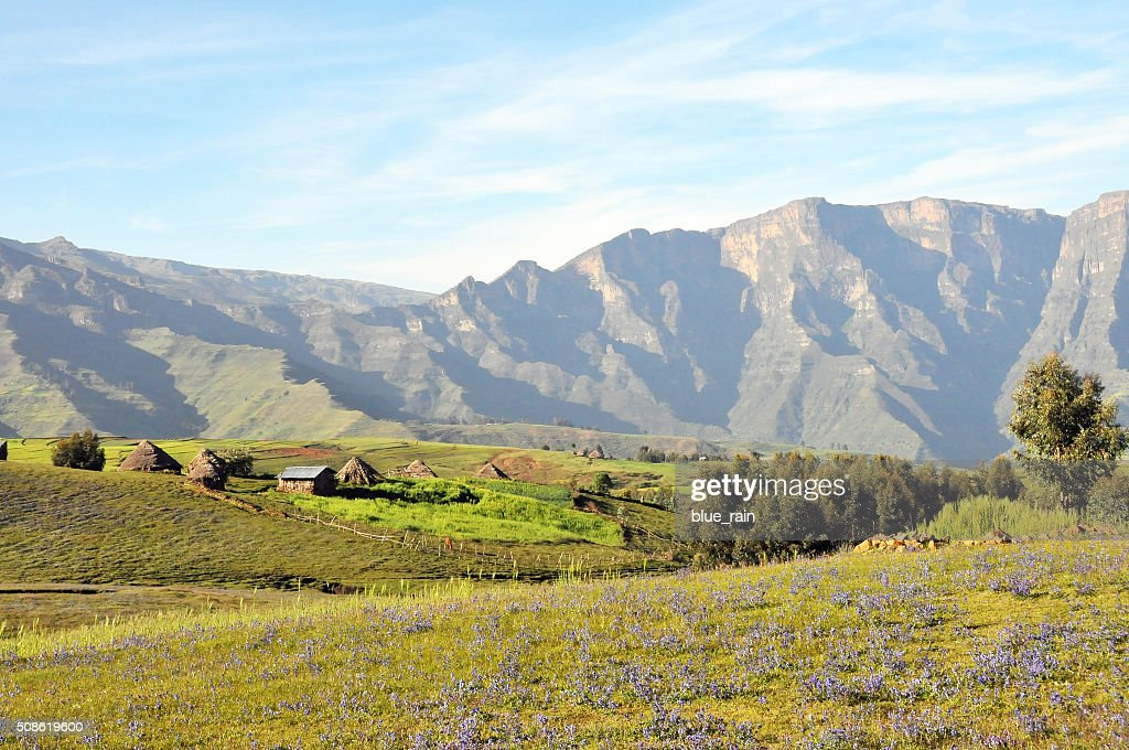 Simien mountains park : Stock Photo
