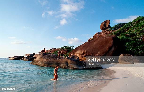 Similan Islands Similans Thailand Indian Ocean Phuket Similan Islands Andaman Sea
