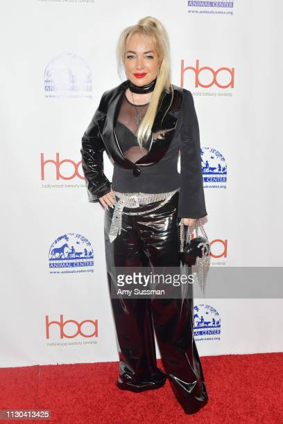 Simin Hashemizadeh attends the Hollywood Beauty Awards at Avalon Hollywood on February 17 2019 in Los Angeles California