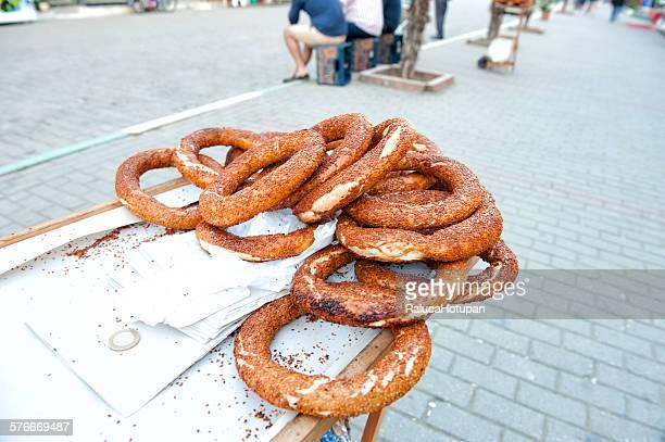 Simit turkish bagels