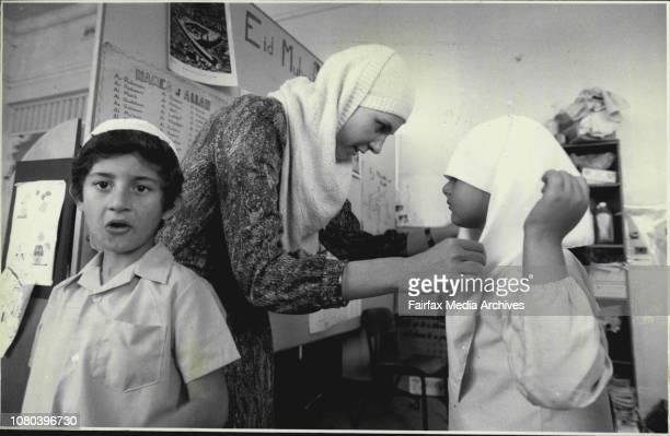 Simla Buckley teacher Muslim School at 157 Canterbury rd Canterbury Students Ahmed Naamet October 31 1986