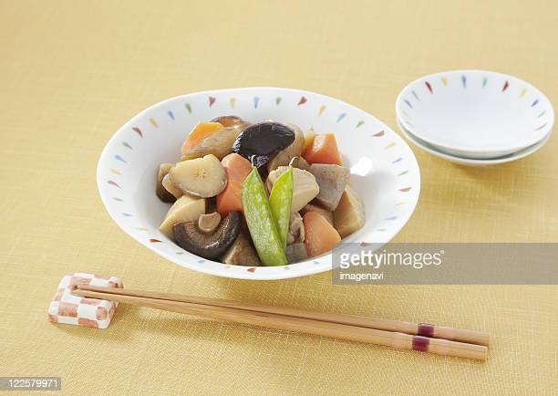 Simmered vegetables, Chikuzenni