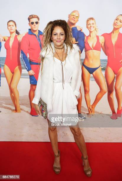 Simmone Jade Mackinnon attends the Australian premiere of 'Baywatch' at Hoyts EQ on May 18 2017 in Sydney Australia