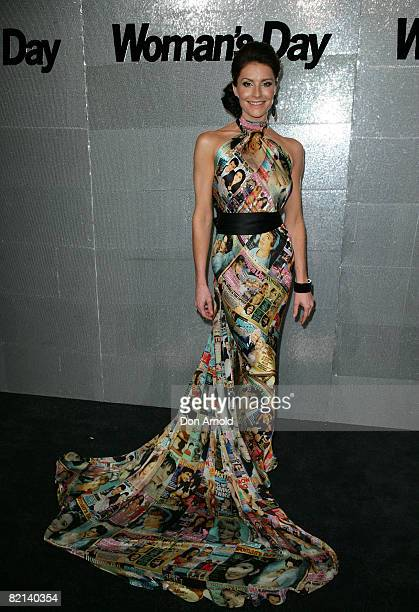 Simmone Jade Mackinnon attends the Women's Day 60th Anniversary Celebrations at the Glass Brasserie on July 31 2008 in Sydney Australia