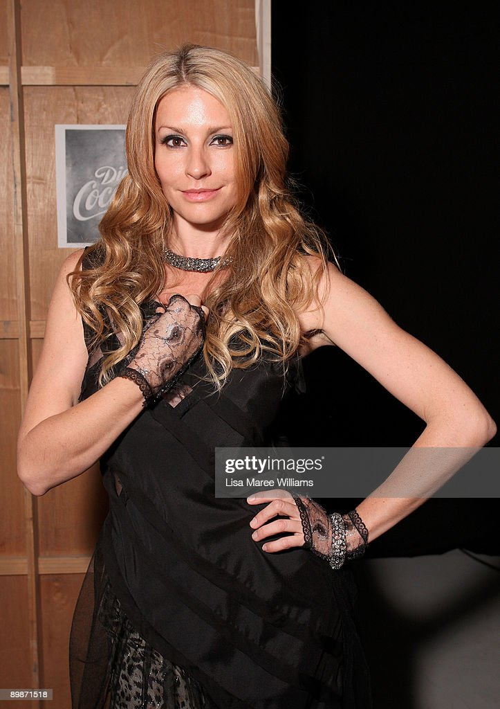 RSFF 2009 - Diet Coca-Cola Little Black Dress Backstage : News Photo