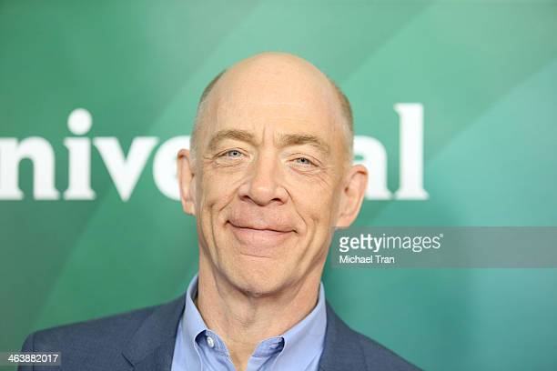 K Simmons arrives at the NBC/Universal 2014 TCA Winter press tour held at The Langham Huntington Hotel and Spa on January 19 2014 in Pasadena...