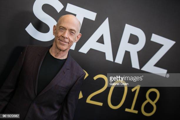 J K Simmons arrives to the For Your Consideration Event for Starz's 'Counterpart' and 'Howards End' at LACMA on May 23 2018 in Los Angeles California