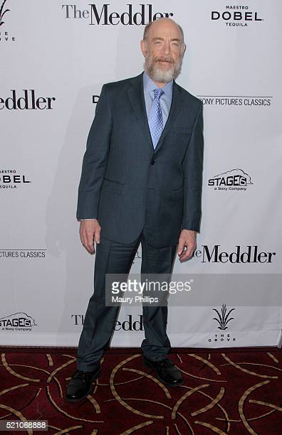 """Simmons attends Sony Pictures Classics Los Angeles Premiere of """"The Meddler"""" at Pacific Theatre at The Grove on April 13, 2016 in Los Angeles,..."""