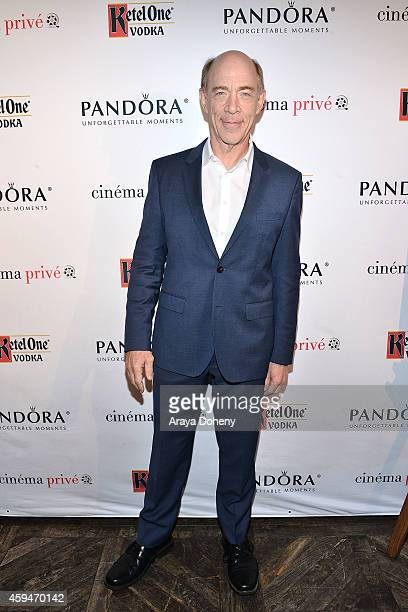 K Simmons attends the cinema prive And PANDORA Jewelry Host A Special Screening Of Whiplash on November 23 2014 in West Hollywood California