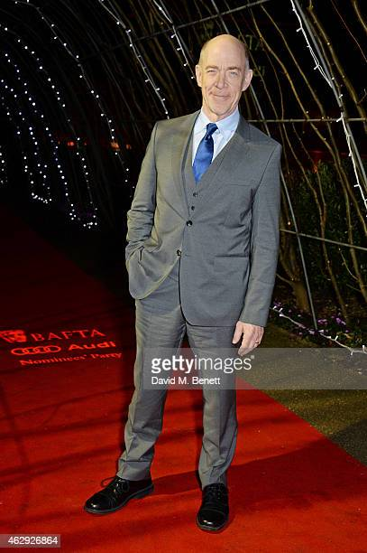 K Simmons attends the EE British Academy Awards nominees party at Kensington Palace on February 7 2015 in London England