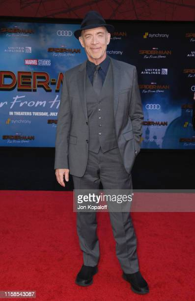 J K Simmons attends the Premiere Of Sony Pictures' SpiderMan Far From Home at TCL Chinese Theatre on June 26 2019 in Hollywood California