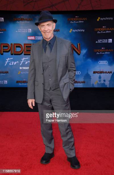 K Simmons attends the Premiere Of Sony Pictures' SpiderMan Far From Home at TCL Chinese Theatre on June 26 2019 in Hollywood California