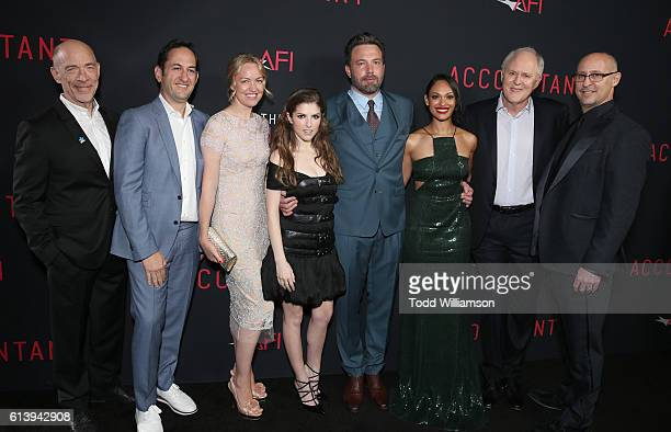 K Simmons Greg Silverman President of Creative Development and Worldwide Production for Warner Bros Pictures Producer Lynette Howell Taylor Anna...