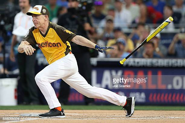 K Simmons in action durint the MLB 2016 AllStar Legends and Celebrity Softball Game at PETCO Park on July 10 2016 in San Diego California