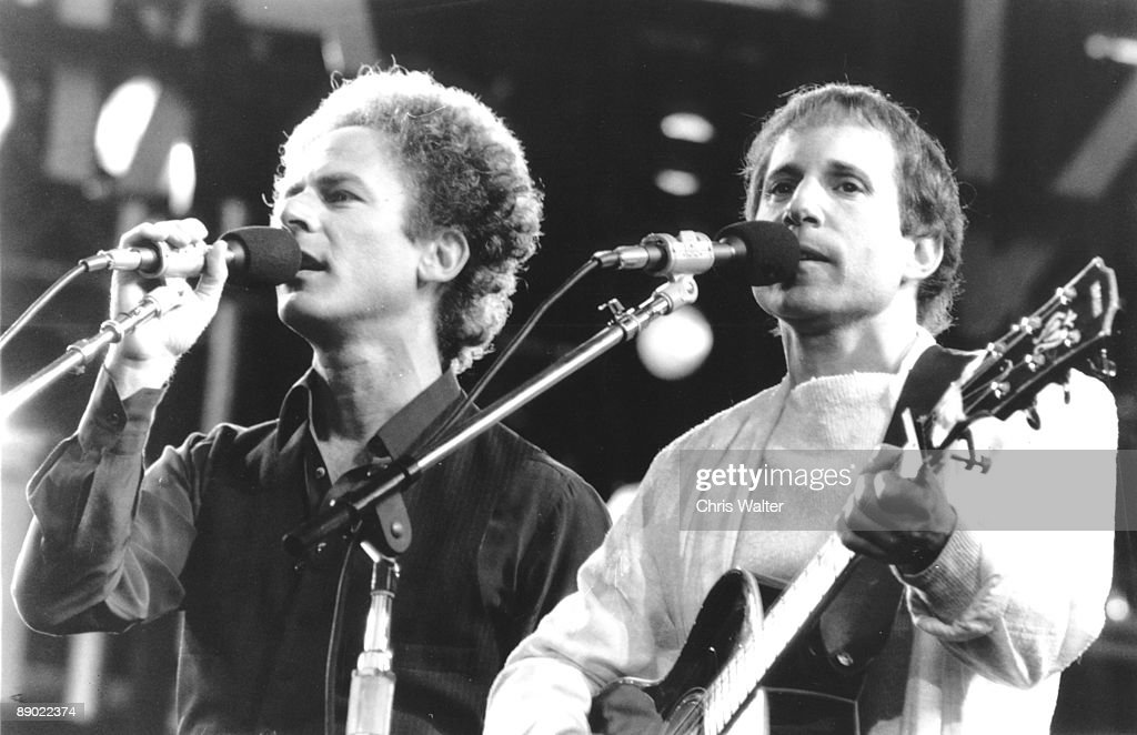 Simon and Garfunkel 1982 Art Garfunkel, Paul Simon