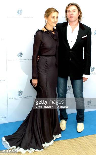 Simon and Yasmin Le Bon arrive at the Raisa Gorbachev Foundation Russian Ball at Althorp House Northamptonshire PRESS ASSOCIATION Photo Picture date...