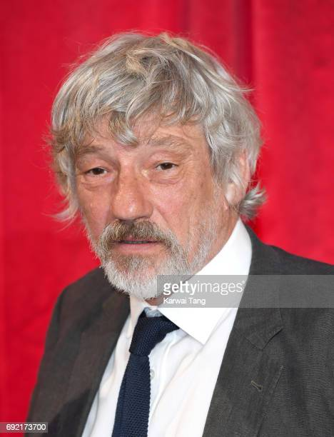 Simon Armstrong attends the British Soap Awards at The Lowry Theatre on June 3 2017 in Manchester England