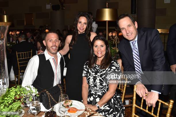 Simon Azulay Susan MayMcLean Donna Herman and Todd Millman attend the 2018 Beit Ruth Gala at Gotham Hall on April 26 2018 in New York City