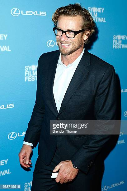 Simon Baker arrives ahead of the Sydney Film Festival Opening Night Gala at State Theatre on June 8 2016 in Sydney Australia