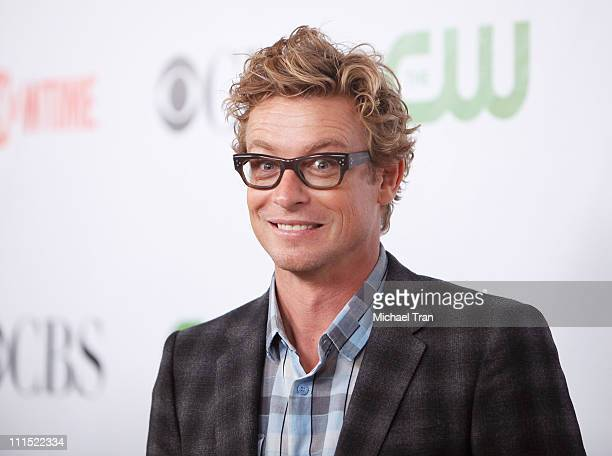 Simon Baker arrives to the 2009 TCA Summer Tour for CBS CW and Showtime party held at The Huntington Library on August 3 2009 in San Marino California