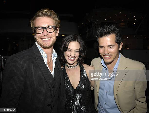 Simon Baker Asia Argento and John Leguizamo during 2005 Cannes Fiilm Festival AnheuserBusch Hosts 'Land of the Dead' Party at AnheuserBusch Big Eagle...