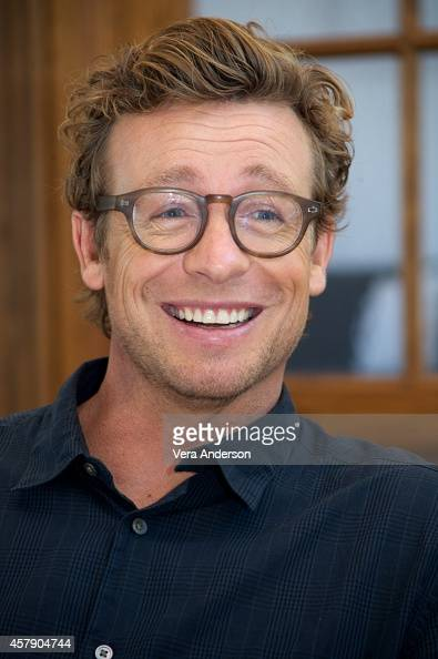 """Simon Baker at """"The Mentalist"""" Press Conference on October ..."""