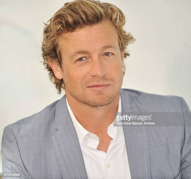 Simon Baker attends a photocall during the 50th Monte Carlo TV Festival at the Grimaldi Forum on June 9 2010 in MonteCarlo Monaco
