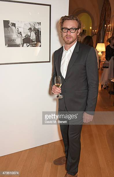 Simon Baker attends as Charles Finch hosts his annual Filmmakers Dinner and photographic exhibition in celebration of 'The Art of Behind The Scenes'...