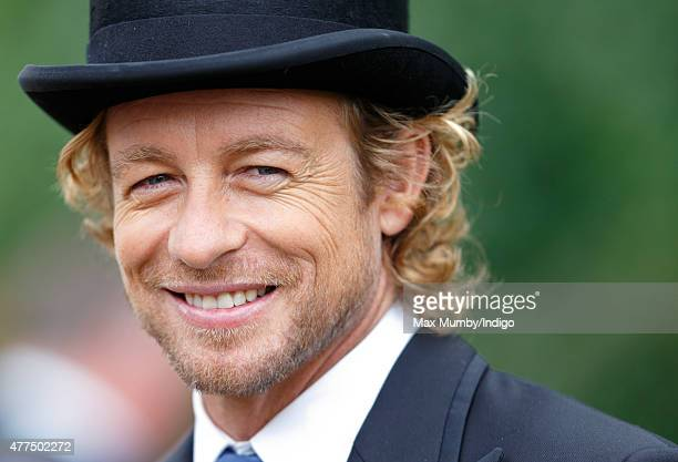 Simon Baker attends day 2 of Royal Ascot at Ascot Racecourse on June 17 2015 in Ascot England