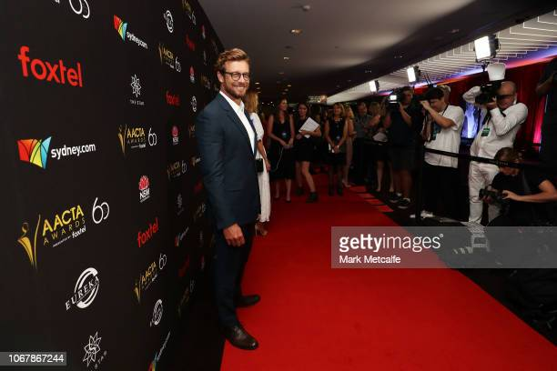 Simon Baker attends the 2018 AACTA Awards Presented by Foxtel | Industry Luncheon at The Star on December 3 2018 in Sydney Australia