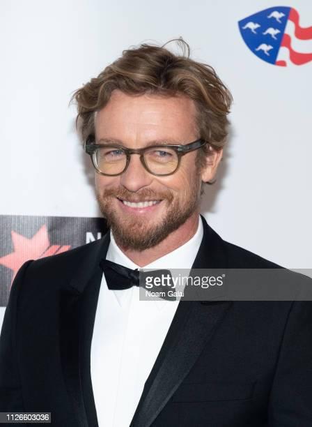 Simon Baker attends the 2019 American Australian Arts Awards at Skylight Modern on January 31 2019 in New York City