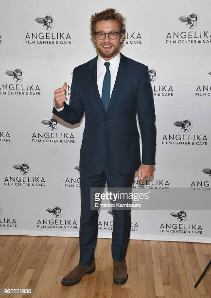 Simon Baker attends the 'Breath' New York screening at Angelika Film Center on May 24 2018 in New York City