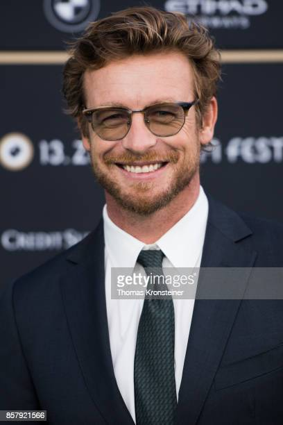 Simon Baker attends the 'Breath' premiere at the 13th Zurich Film Festival on October 5, 2017 in Zurich, Switzerland. The Zurich Film Festival 2017...