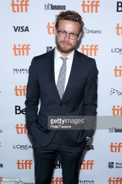 Simon Baker attends the Breath premiere during the 2017 Toronto International Film Festival at Scotiabank Theatre on September 10 2017 in Toronto...