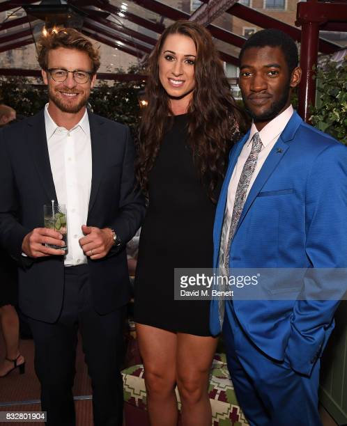 Simon Baker Bianca Walkden and Malachi Kirby attend a VIP Dinner with Longines and Simon Baker to celebrate the Commonwealth Baton arriving in London...