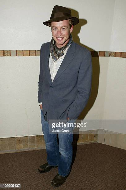 "Simon Baker during 2004 Sundance Film Festival - ""Book of Love"" Premiere at Library in Park City, Utah, United States."
