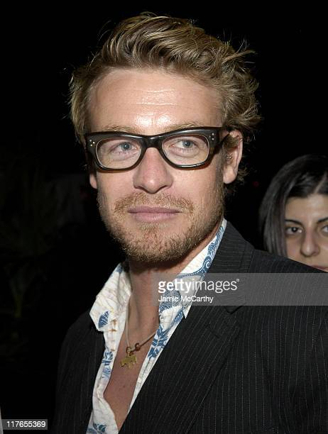 Simon Baker during 2005 Cannes Fiilm Festival AnheuserBusch Hosts 'Land of the Dead' Party at AnheuserBusch Big Eagle Yacht in Cannes France