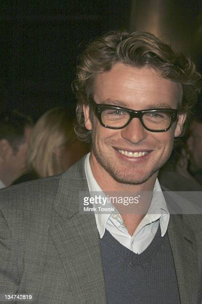 Simon Baker during Focus Features' 'Something New' Los Angeles Premiere Arrivals at Cinerama Dome / Cabanna Club in Hollywood California United States