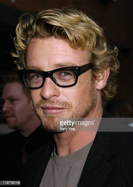 Simon Baker during 'Land of the Dead' Los Angeles Premiere Arrivals at National Theatre in Westwood California United States