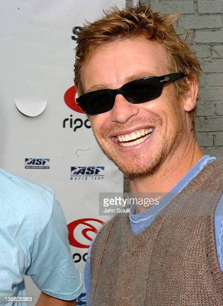 Simon Baker during Rip Curl Presents Sand Glam Benefitting Heal the Bay Celebrity Surfing Competition at Malibu Surfrider Point in Malibu California...