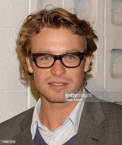 Simon Baker during 'Something New' Los Angeles Premiere Arrivals at Cinerama Dome in Los Angeles California United States