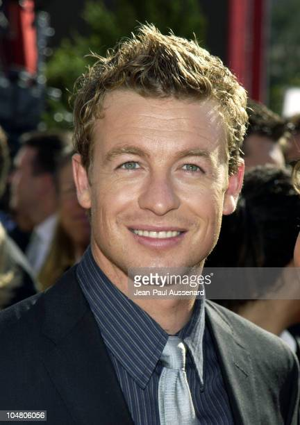 Simon Baker during The 54th Annual Primetime Emmy Awards - Arrivals at The Shrine Auditorium in Los Angeles, California, United States.