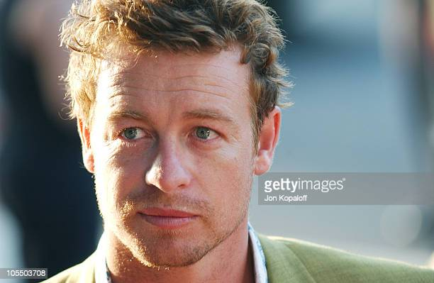 Simon Baker during 'We Don't Live Here Anymore' Los Angeles Premiere Arrivals at The Director's Guild of America in Los Angeles California United...