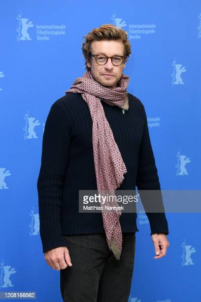 "Simon Baker poses at the ""High Ground"" photo call during the 70th Berlinale International Film Festival Berlin at Grand Hyatt Hotel on February 23,..."