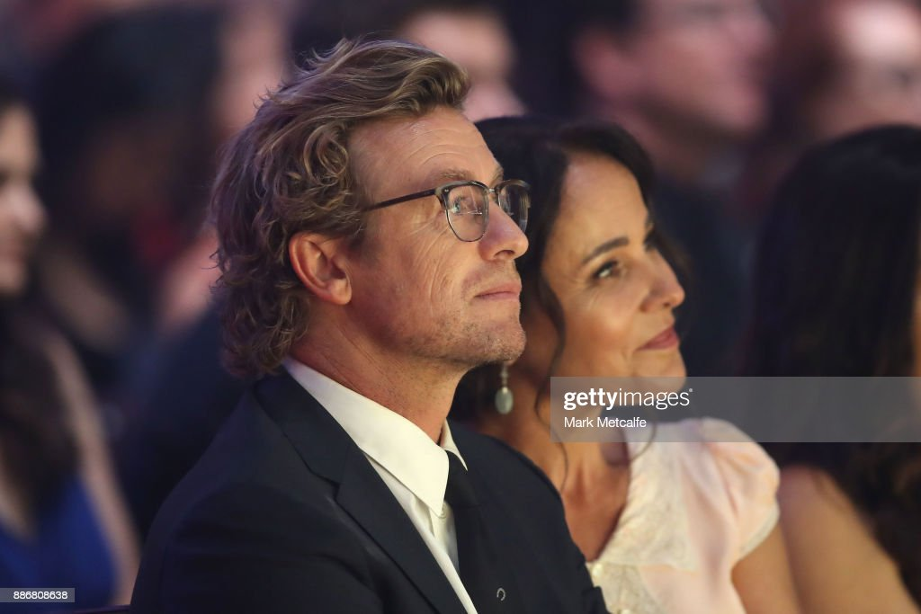 Simon Baker watches during the 7th AACTA Awards Presented by Foxtel | Ceremony at The Star on December 6, 2017 in Sydney, Australia.