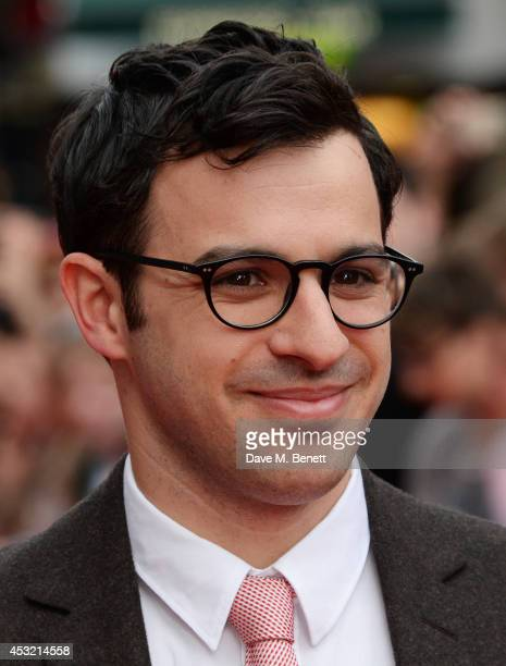 """Simon Bird attends the World Premiere of """"The Inbetweeners 2"""" at Vue West End on August 5, 2014 in London, England."""
