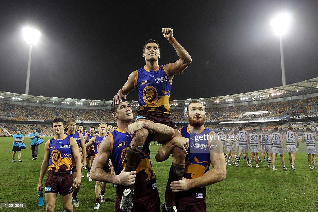 AFL Rd 5 - Brisbane v Geelong