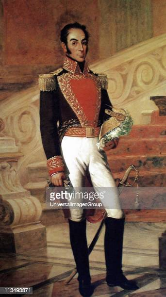 Simon Bolivar Venezuelan political leader. Together with Jose de San Martin, he played a key role in Latin America's struggle for independence from...