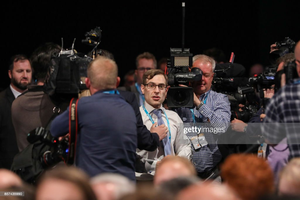 Key Speakers At The Conservative Party's Annual Conference : News Photo
